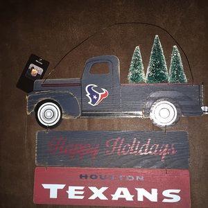 Other - Front door Houston Texans Christmas decoration